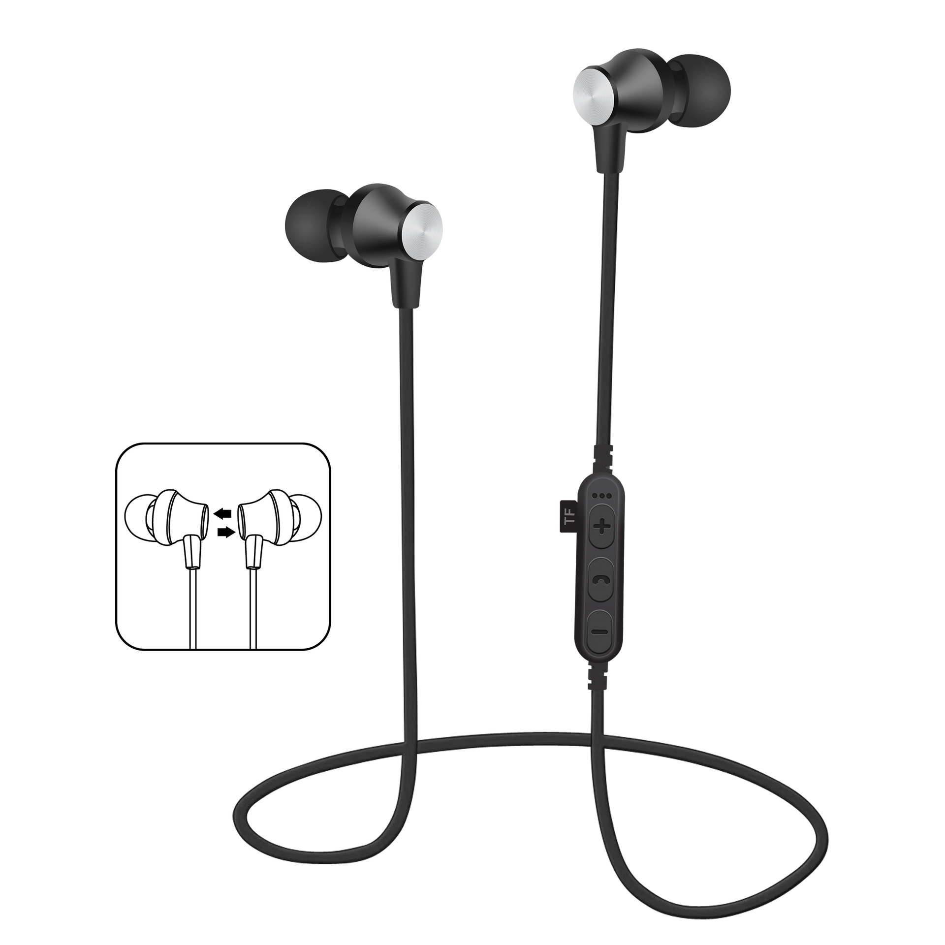 Tc T2 Card Sport Bluetooth Headset Sports Tucci